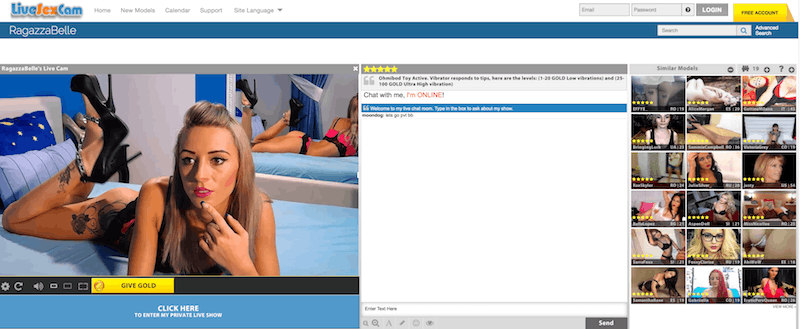 live naked chat rooms